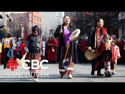 Thousands Honour Missing And Murdered In Vancouver