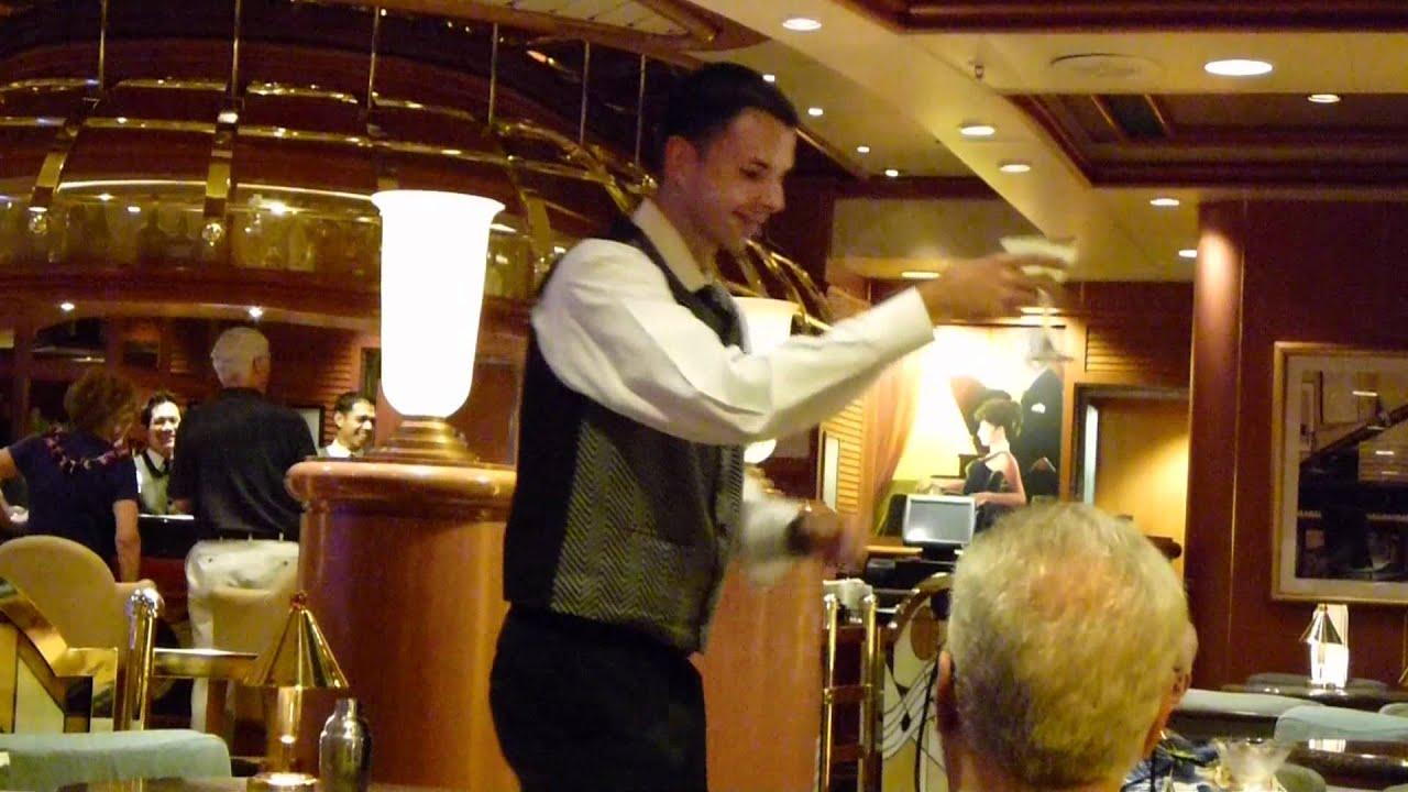 Alex Bar Steward On The Sapphire Princess YouTube - Steward cruise ship