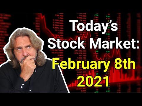 Stock Market Today: February 8, 2021