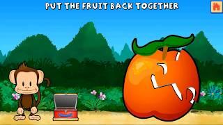 Monkey Preschool Lunchbox - Fun Games for Kids and Educational