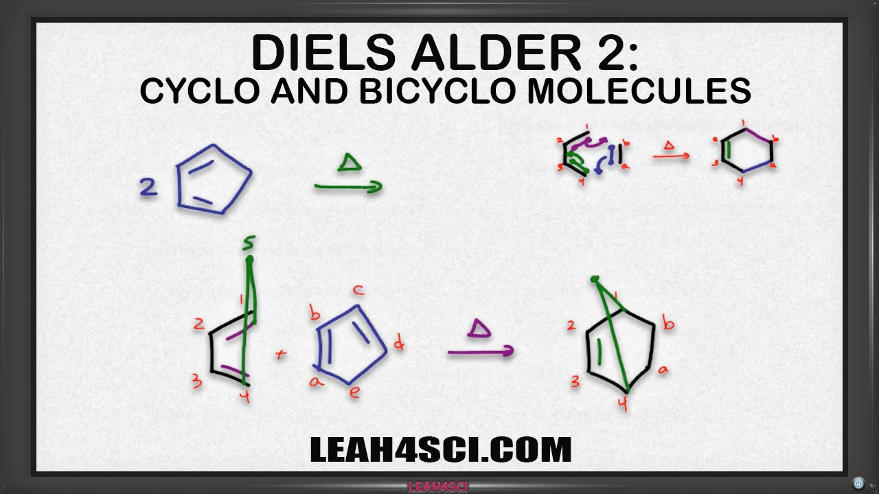 a study of the diels alder cycloaddition reaction Theoretical study of the mechanism of an inverse-demand behaves as a diene reagent in the diels–alder cycloaddition, the reaction will be favored when.
