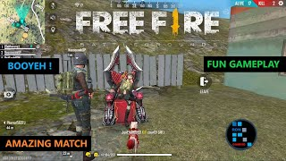 GARENA FREE FIRE | FUN GAMEPLAY RON PLAYS THE GAME AFTER LONG TIME