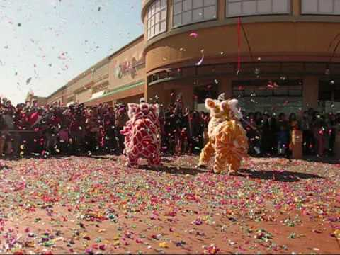 Pho Da Lion Dance Part 1/2
