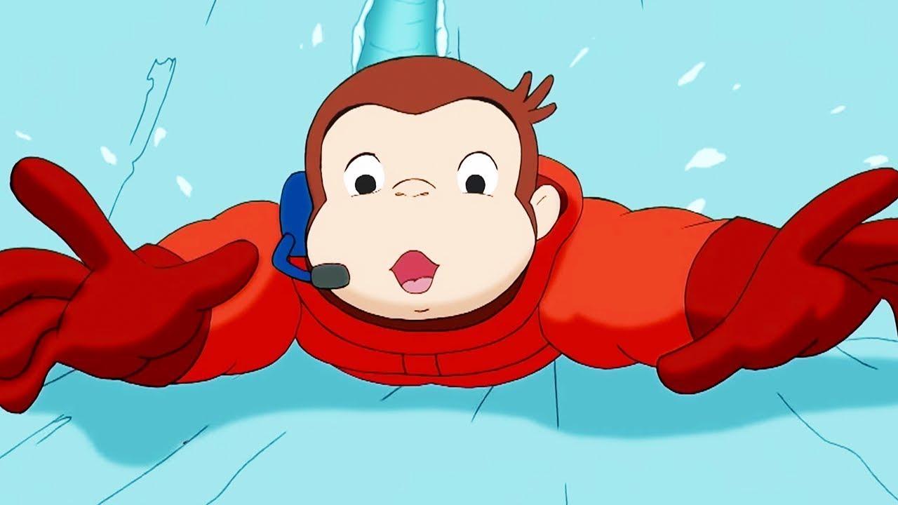 Curious George 🐵Ice Station Monkey 🐵Cartoons For Kids | WildBrain Cartoons