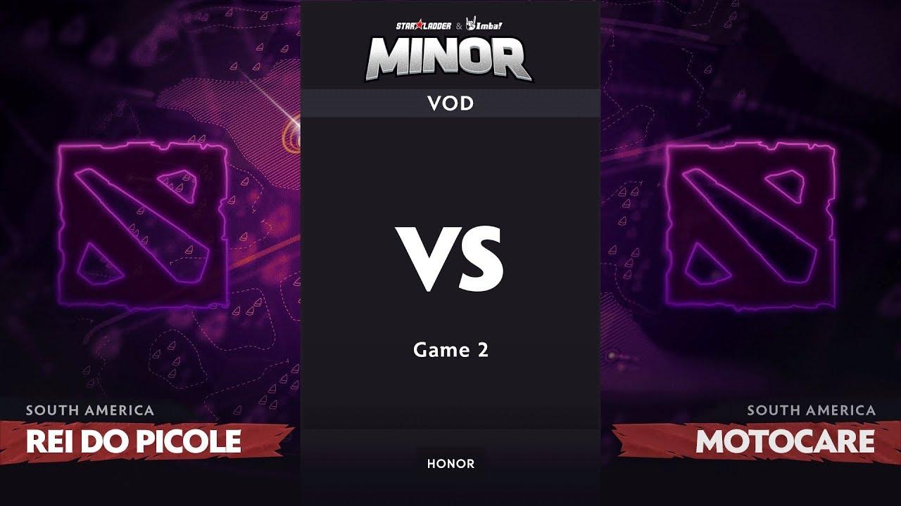 [RU] rei do picole vs motoca_reborn, Game 2, SA Qualifiers, StarLadder ImbaTV Dota 2 Minor