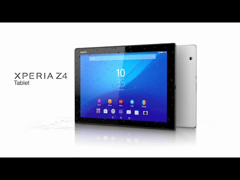 Sony Xperia Z4 Tablet vs Xperia Z3 Compact Tablet Official Ads