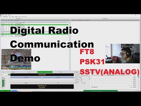 Download Ham Radio Digital Modes FT8, SSTV, and PSK31 Demo