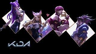 KDA popstar Visualizer REMIX