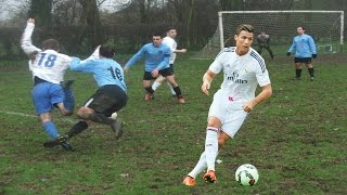 Amateurs vs World's Best Football Players ● Goals, Skills, Bloopers, Fouls and More! ● Sunday League
