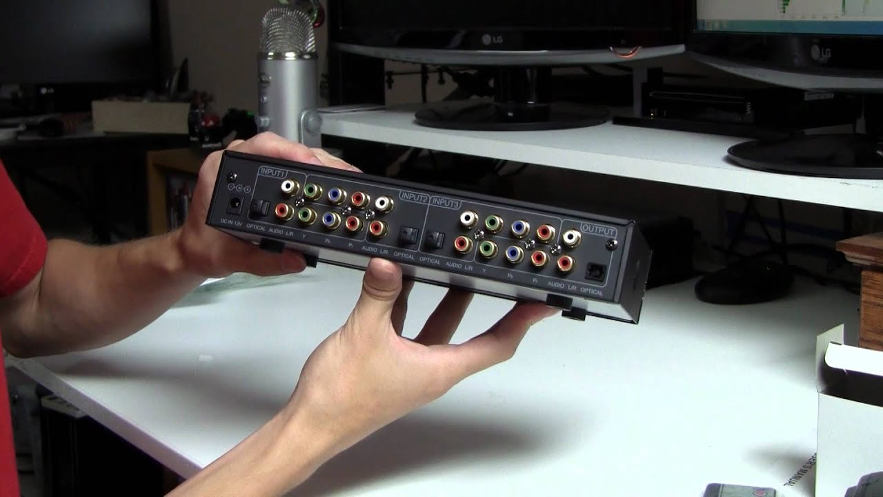 Impact Acoutstics 3 Play Component Video Digital Audio Switch Unboxing