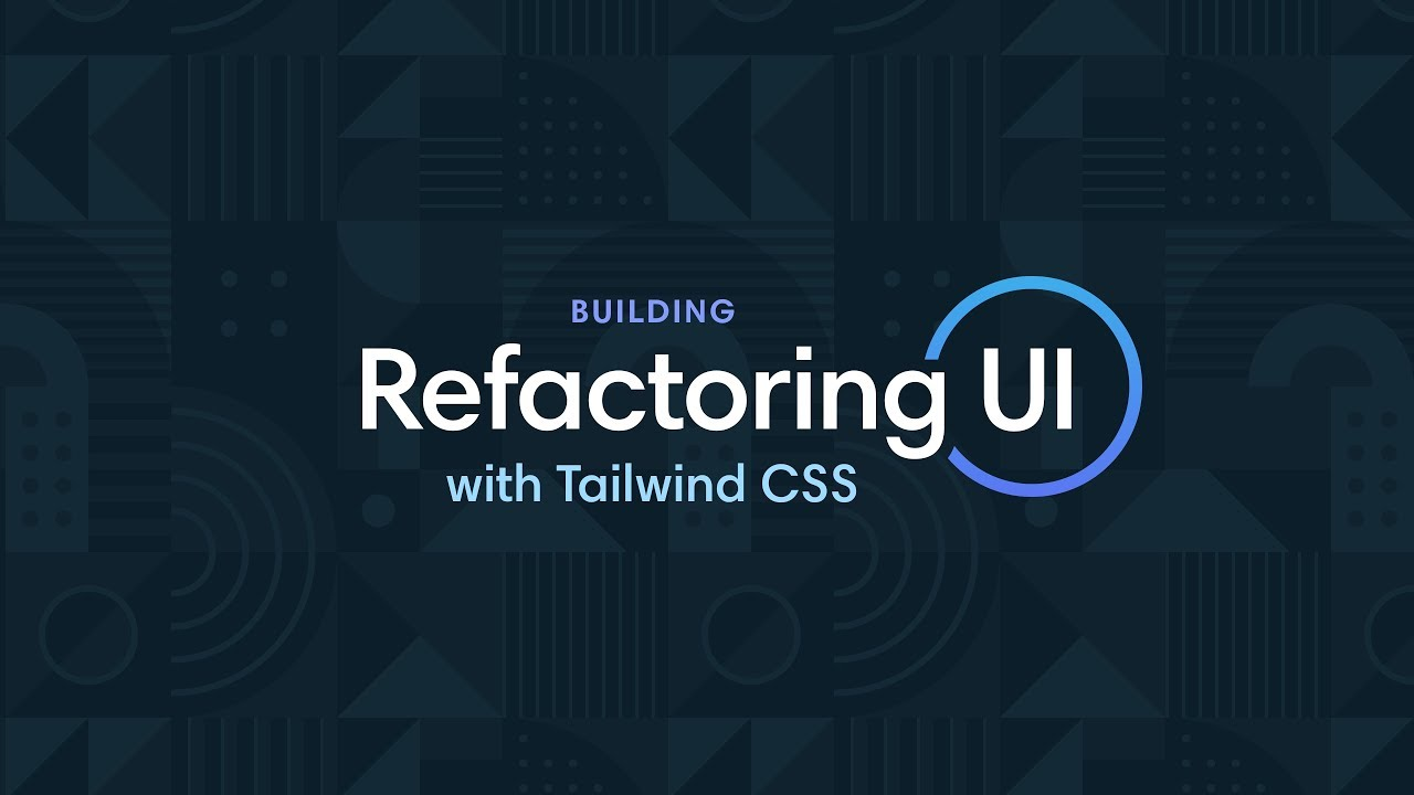 Building RefactoringUI com with Tailwind CSS - YouTube