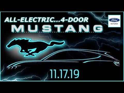 Tamo - Ford Motor Company To Officially Launch Its New All-Electric Mustang SUV