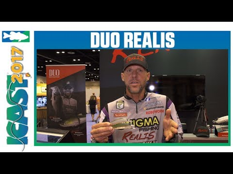 New DUO Realis Jerkbait Colors With Aaron Martens | ICAST 2017