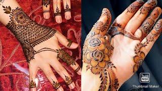 """A"", "" S"", ""P❤N"" Letters tattoo mehndi designs | Beautiful Tattoo mehndi designs"