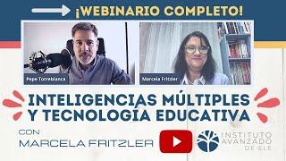 """Webinario """"Inteligencias múltiples aplicadas a la tecnología educativa""""."""