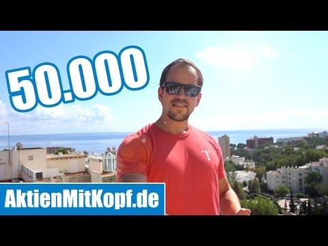 50.000 Abonnenten! DIE ABRECHNUNG - Motivationsvideo