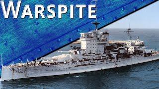 Только История: линкор HMS Warspite