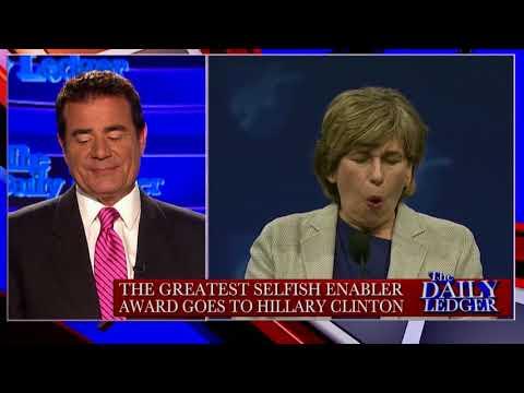 Stop the Tape! Hillary's Selfish Enabler Award