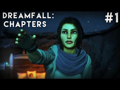 Dreamfall Chapters: Book One Walkthrough Part 1 - MIND OVER MATTER! Gameplay Let's Play Review PC