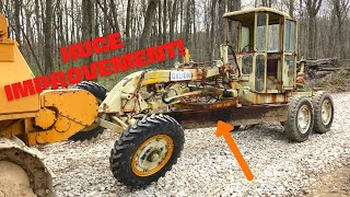 Steam Cleaning 60 years of filth & paint off of my Galion Road Grader! (ASMR?) Pt.6