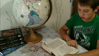 Д. Емец ''Мефодий Буслаев. Свиток желаний''. Читает Мингалиев Карим, 11 лет