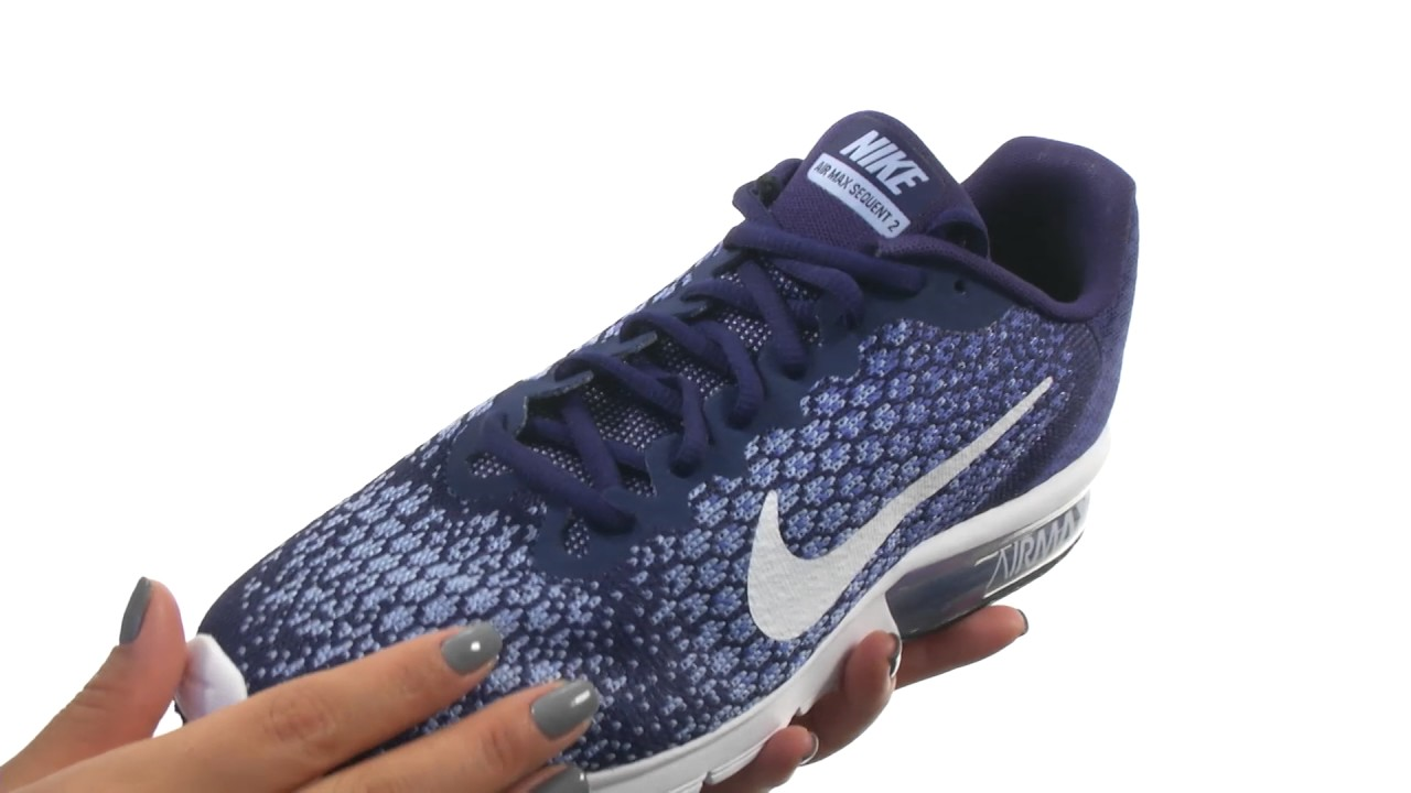 7b1a1edaa8f Nike Air Max Sequent 2 SKU 8803192 - YouTube