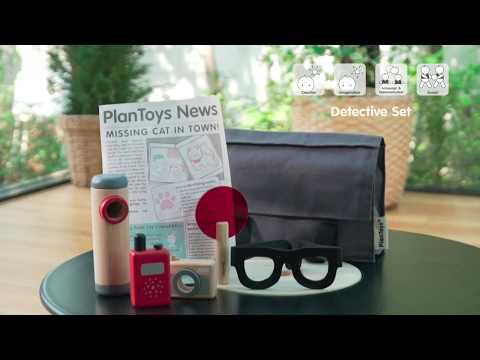 PlanToys | Detective Set