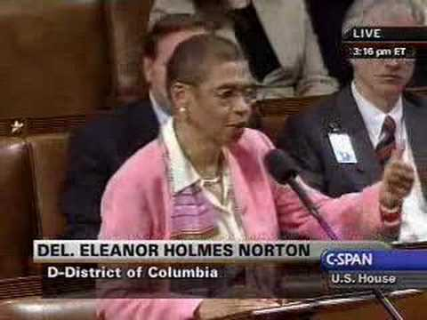 Rep. Holmes Norton on the 1964 Death of Civil Rights Workers