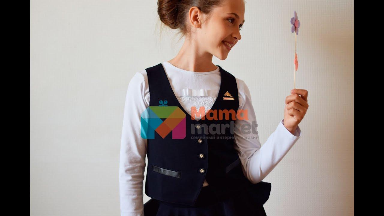 Женские жакеты и пиджаки сезона весна лето 2018 можно купить в интернет магазине модной. Черный пиджак с цветочным принтом без застежки.