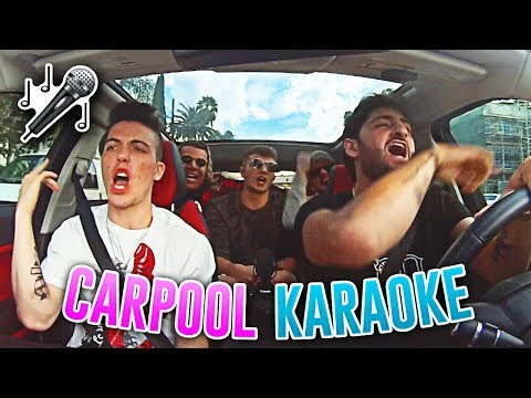 CARPOOL KARAOKE WITH FaZe Adapt Wolfie Raps & MORE