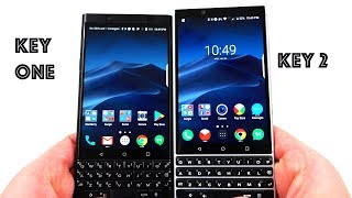 Blackberry KeyOne vs Blackberry Key 2: 5 Quick Reasons to Upgrade!
