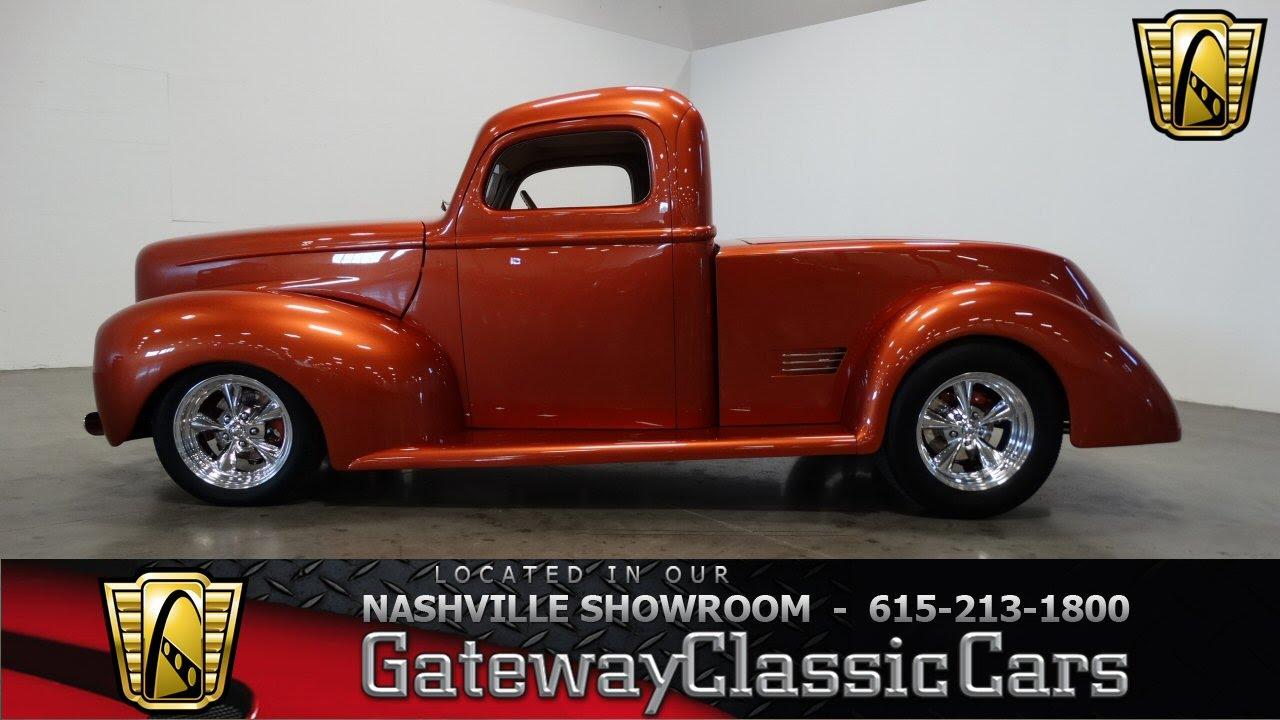 1940 Ford Pick Up 273 Gateway Classic Cars Nashville Youtube