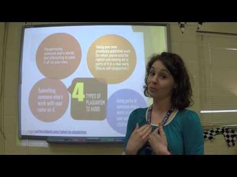 Research Methods - Plagiarism
