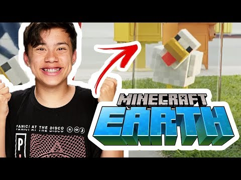 MINECRAFT IN REAL LIFE! | Minecraft Earth