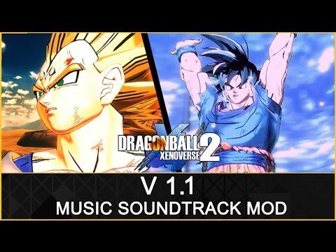 dragon ball xenoverse 2 - music soundtrack mod v1.1 - youtube