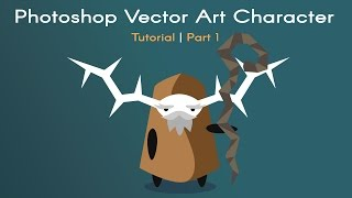 Photoshop Vector Art Video Game Character Tutorial