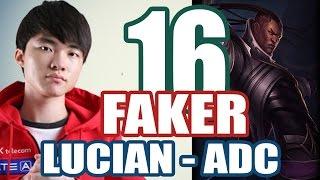 Stream cá nhân Faker - LUCIAN vs CAITLYN #16