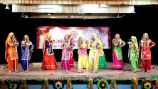 D.A.V college Amritsar zonal 2015(giddha)