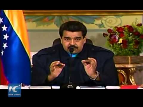 Maduro slams Obama for trying to topple his gov't