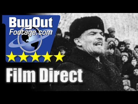 Scenes Of The Russian Revolution 1916 - 1925 HD Stock Footage