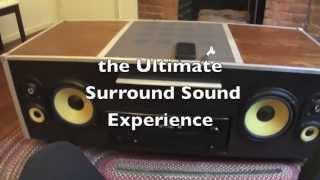 Amazing Furniture: The Soundbox (coffee Table)
