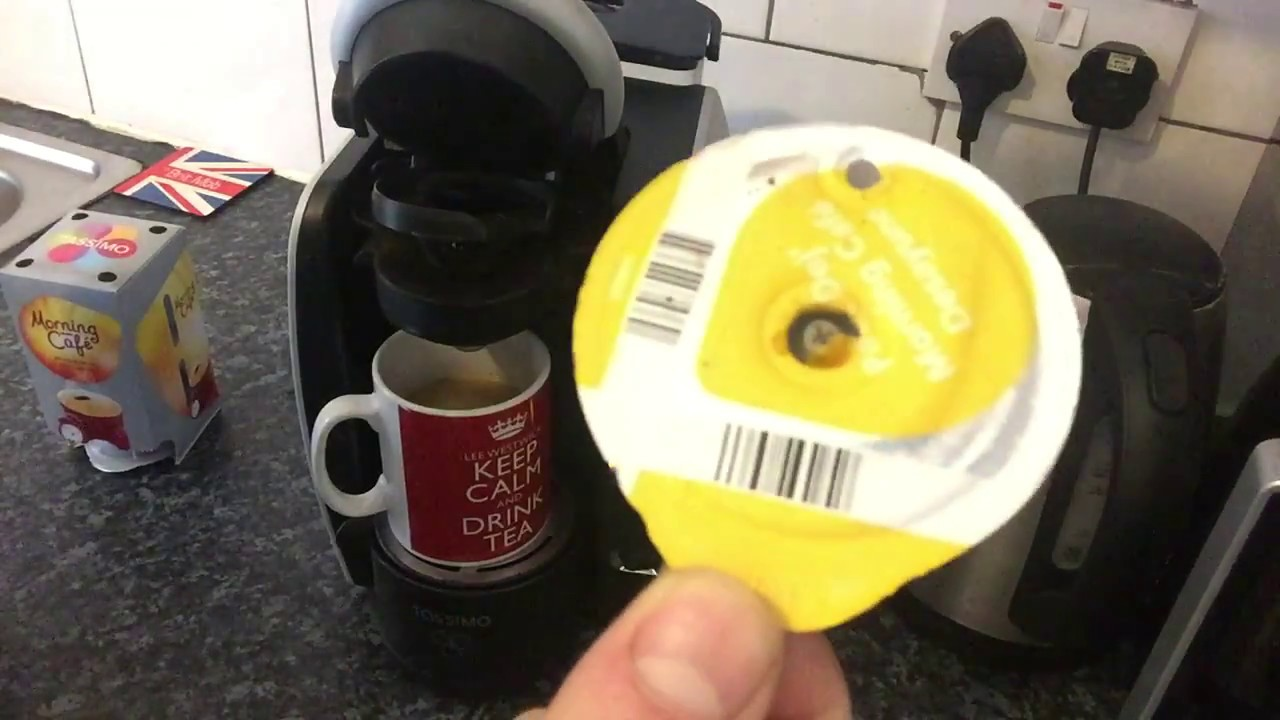 How to use Bosch Tassimo Coffee Maker - YouTube