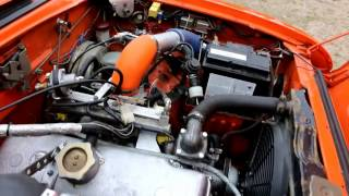 ИЖ 412 Turbo Uzam1 Турбо Москвич Замер на Дино-Стенде, Drag Racing