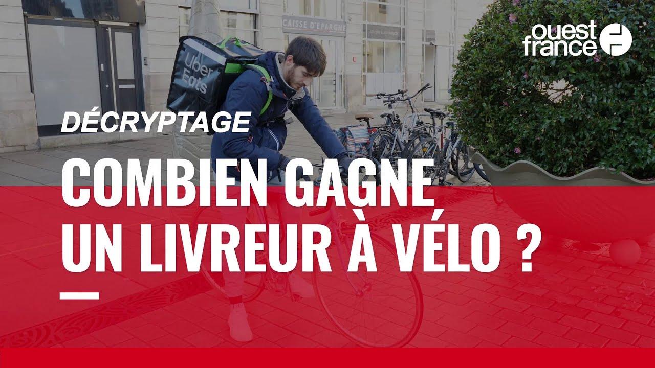 Download Uber Eats, Deliveroo… Combien gagne réellement un livreur à vélo ?