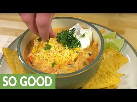 Easy Slow Oven Chicken Chili Recipe
