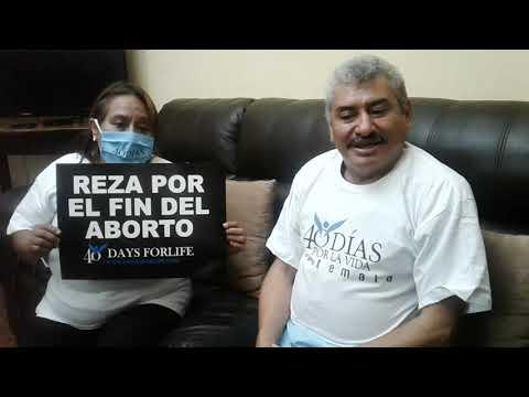 Lobo Vasquez y su esposa envian un mensaje .
