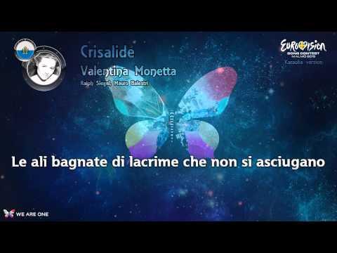 "Valentina Monetta - ""Crisalide"" (San Marino) - Instrumental"