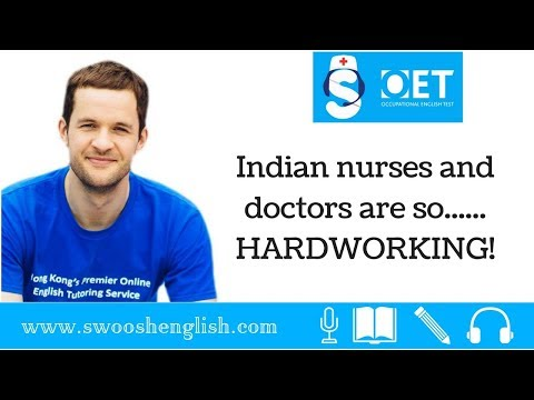 Indian nurses and doctors are so...... HARDWORKING!