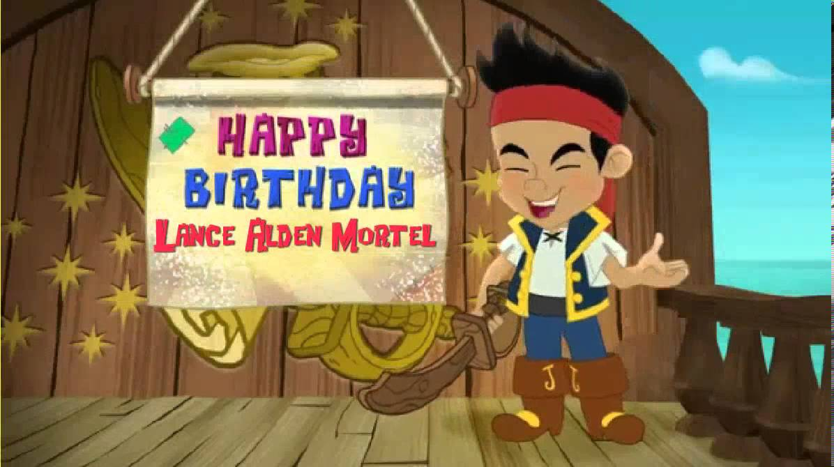 Personalized Birthday Greeting From Jake The Pirate For 5 Youtube