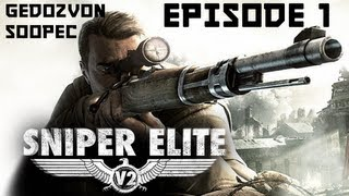 Sniper Elite V2 - Co-Op Прохождение - Episode 1 - Лысый Ленин